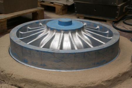 Modèle piston sable